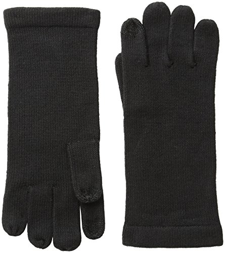 Collection XIIX Women's Basic Full Fingered Tech Glove, Black, One Size