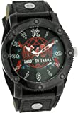AC/DC Leather Strap Wrist Watch Shoot To Thrill