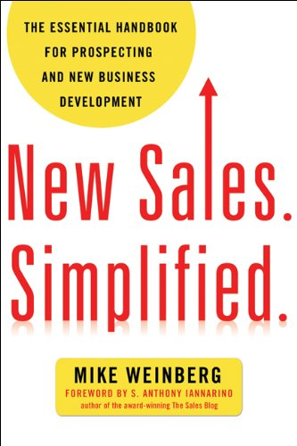 New Sales. Simplified.: The Essential Handbook for Prospecting and New Business Development (Business Development Kindle compare prices)