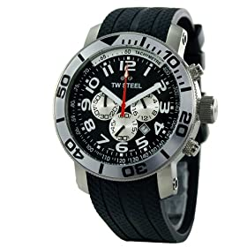 "TW Steel Men's ""Grandeur Divers"" Black Watch #TWS73"