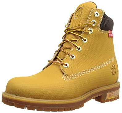 Timberland Men's 6 Inch Premium Helcor Boot,Wheat,7 W US