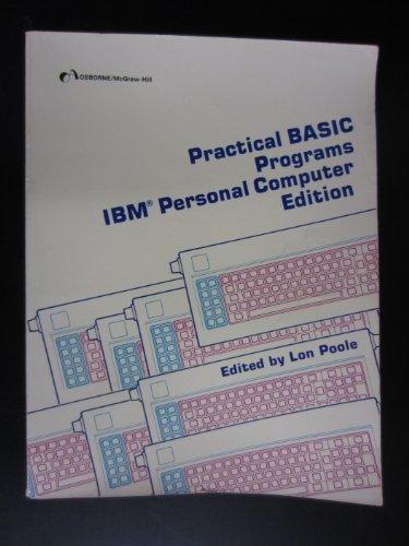 Image for Practical Basic Programs: IBM PC Edition