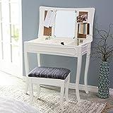 Linon Sarah Vanity - White, Wood