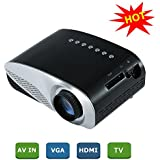 Alcoa Prime LED Projector Full HD 1080P Home Cinema Theater Projection Machine Support PC Laptop HDMI VGA USB...