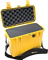 Pelican 1430 Case with Foam for Camera (Yellow)