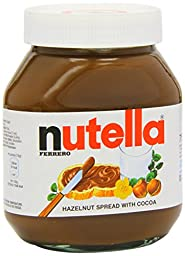 Nutella 750 g (Pack of 6)