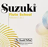 Suzuki Flute School, Volume 1 & 2 (CD) (Suzuki Method)