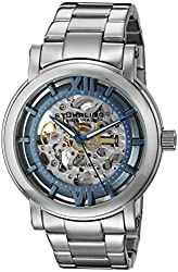 Stuhrling Original Men's 426.33116 Classic Winchester XT Skeleton Blue Dial Watch