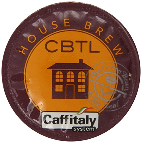 Cbtl House Brew Coffee Capsules By The Coffee Bean & Tea Leaf, 10-Count Box