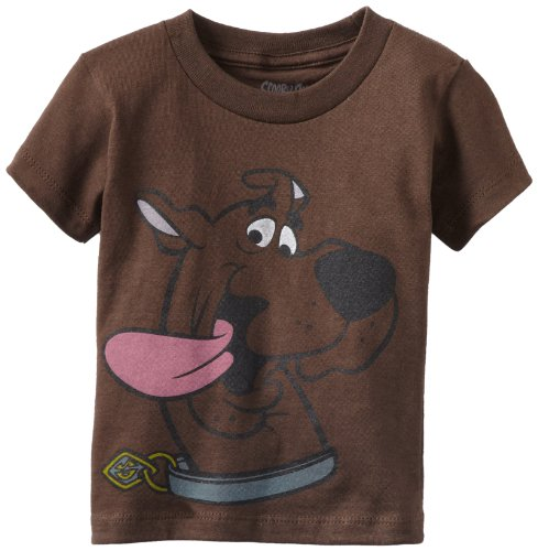 Scooby Doo Little Boys' Tee Toddler, Brown, 4T front-560200