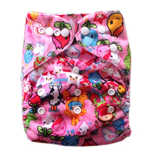 Besto Baby Reusable Washable Aio Cloth Diapers Fit 6-33Lbs With 1 Free Microfiber Insert 1M35 front-786716