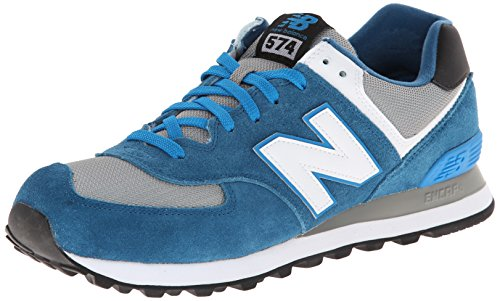 New Balance NBML574CPD Sneaker, Blu (Blau (CPD BLUE/GREY)), 44
