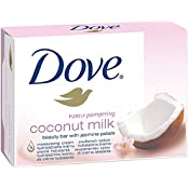 Dove Purely Pampering Coconut Milk Bar 135g (pack Of 3) Imported