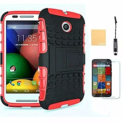 Fosmon HYBO-DUOC Slim Fit Dual-Layer Hybrid Case for Motorola Moto E from Fosmon