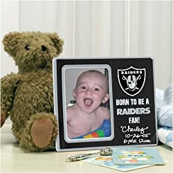 Oakland Raiders Memory Company Born to Be Picture Frame NFL Football Fan Shop Sports Team Merchandise