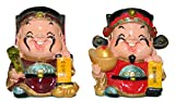 Made with Fiber Material Chinese Boy Doll in Decorative art by Bharat Haat BH02787