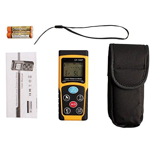 Digital Distance Measuring Equipment : Laser distance measurer folote m ft handheld