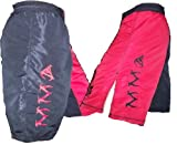 Mixed Martial Arts Black and Red Tribal Fight Shorts Size 38
