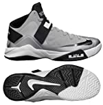 Nike 525017004 Zoom Soldier VI TB Men's Basketball Shoes (Wolf Grey/Black-White)