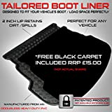 Hyundai i30 Estate (2012 Onwards) & Kia CEED Estate (2012 Onwards) Boot Liner Mat Tray With FREE Velour Carpet Insert RRP £15.00