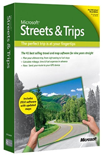 Streets and Trips 2010 [Old Version] (Streets And Trips Software compare prices)