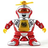 Koly� Caminar electr�nico separaci�n inteligente del robot; Dancing astronauta; Ni�os m�sica ligera Juguetes Rojo