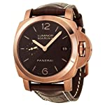 Panerai Luminor Marina 1950 3 Days Automatic Brown Dial 18 kt Rose Gold Mens Watch PAM00393 by Panerai