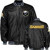 Buffalo Sabres Faux Leather Varsity Jacket