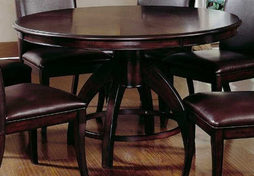 Buy Low Price Hillsdale Dining Table Contemporary Style in Dark Walnut Finish (HS-4077DTB)
