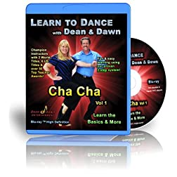 Cha Cha Vol 1 - Learn the Basics & More (Cha Cha Dance Lessons Blu-ray)