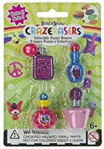 CrazErasers Collectible Erasers ~ Smellin' Sweet (Series 3)
