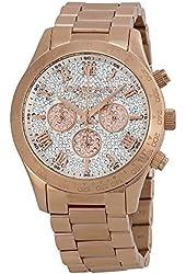Michael Kors Layton Rose Gold-Tone Stainless Steel Chronograph Women's watch #MK5946