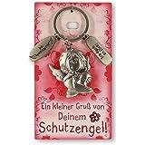 Schlüsselanhänger Schutzengel Ich denk an dich / Ich beschütze Dich !