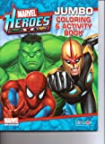 Marvel Heroes: Jumbo Coloring and Activity Book