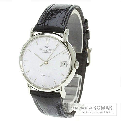 IWC(インターナショナルウォッチカンパニー) ポートフィノ 腕時計 ステンレススチール/革 メンズ (中古)