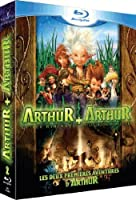 Arthur et les Minimoys + Arthur et la vengeance de Maltazard - Coffret 2 Blu-ray - Incluses les premières images du 3e volet de la saga