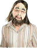 Morris Costumes Men's Caveman Latex Mask