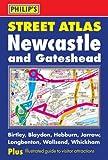 Philip's Street Atlas Newcastle and Gateshead (City Street Atlases)