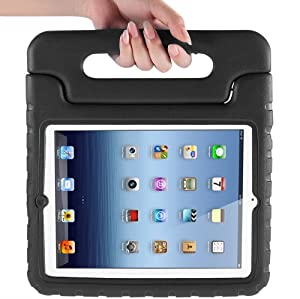 i-Blason ArmorBox Kido Series Light Weight Super Protection Convertable Stand Cover Case for Apple New iPad Mini 7.9 Inch Kids Friendly (Black)