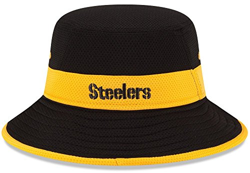 0eea68412 Men s Era PIttsburgh Steelers Training Camp Reverse Bucket Hat