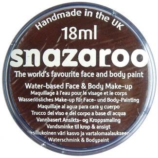 18ml-dark-brown-classic-snazaroo-classic-face-paint