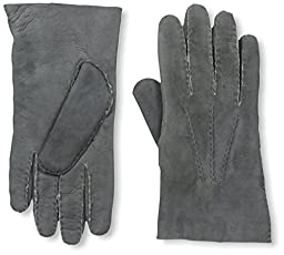 Franklin Tailored Men\'s Nubuck Gloves, Charcoal, XL
