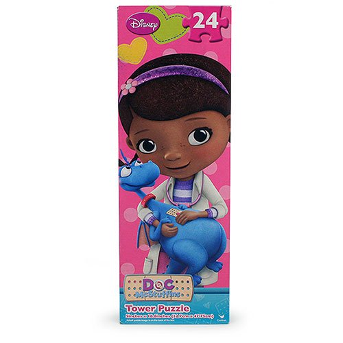 Doc McStuffins 24 Piece Tower Puzzle - Assorted Styles