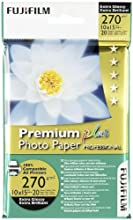 Comprar Fujifilm Premium Plus Photo Paper Prof. 10x15 cm, 270g (20) - Papel fotográfico (270g (20), 270 g/m², 10x15 cm)