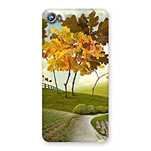 Cute Way Back Case Cover for Micromax Canvas Fire 4 A107