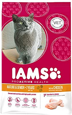 Iams Cat Food ProActive Health Mature & Senior Roast Chicken
