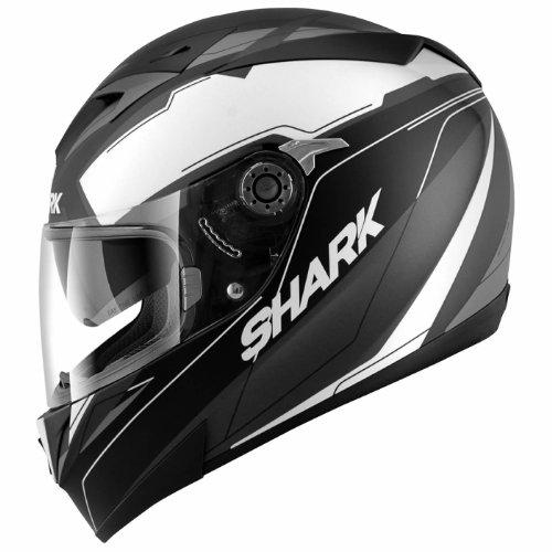 HE0443EKWAS - Shark S700-S Lab Mat Motorcycle Helmet S Black (KWA)