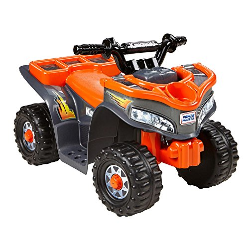 Power Wheels Kawasaki Lil Quad Orange