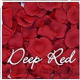 Rose petals Sachet de 100 pétales de rose en soie Rouge