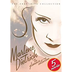 Marlene Dietrich - The Glamour Collection (Morocco/ Blonde Venus/ The Devil Is a Woman/ Flame of New Orleans/ Golden Earrings)
